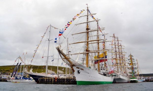 The Tall Ships Races will return to Lerwick in 2023