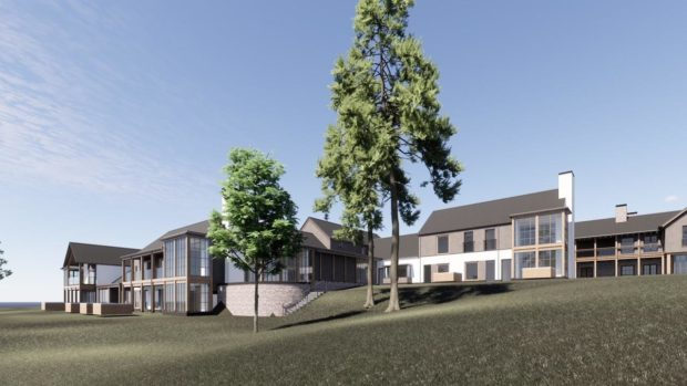 New vision for the £30m five-star hotel, the Lucullan, in Deeside.