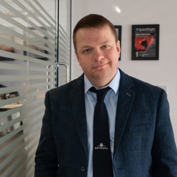 - Volodymyr Levykin 35761690 564x564 - Clean up space junk before 'disaster strikes' says Scottish rocket company boss