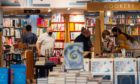 Customers start to shop again in Waterstones in Aberdeen