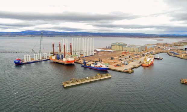The Port of Nigg.