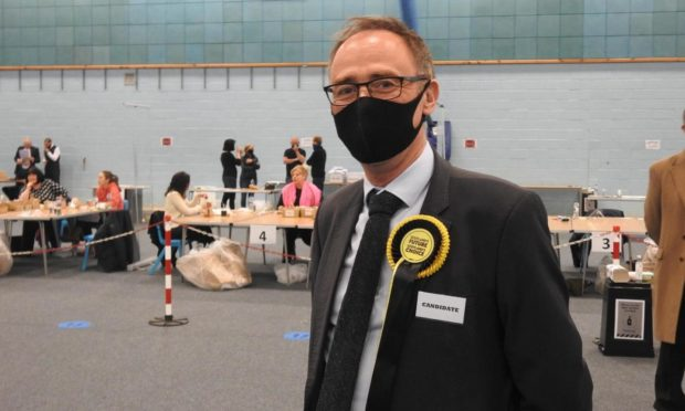 Alasdair Allan has retained the SNP's hold of the Western Isles. Picture by Western Isles News Agency