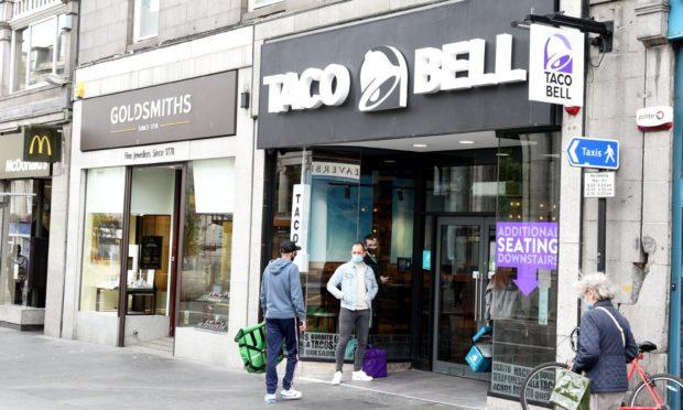 Taco Bell on Union Street.