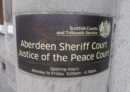 Steven Pitt appeared at Aberdeen Sheriff Court.