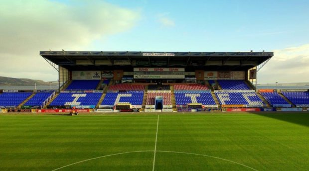 Caledonian Stadium, home of Caley Thistle.