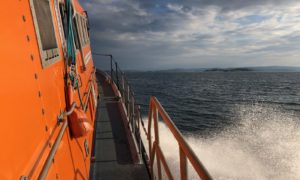 Oban lifeboat were called out in the early hours on Sunday morning after reports of a yacht overdue.