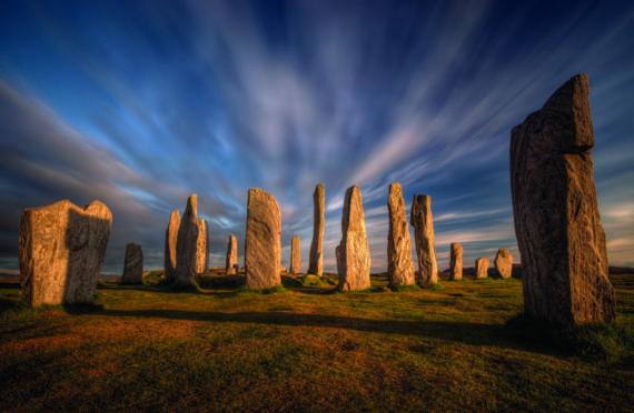 The Callanish stones, on Lewis.