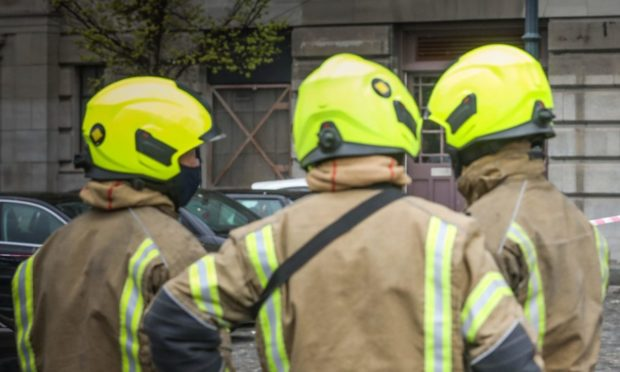 More than half the sick days logged by firefighters in March 2020 were for Covid-related reasons.