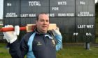 Aberdeenshire captain Kenny Reid at Mannofield