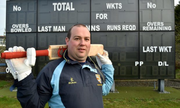 Aberdeenshire captain Kenny Reid.