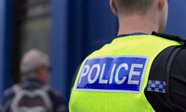 Police Kirkcaldy stickers