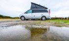 A soggy campervan holiday left Ken pining for home.