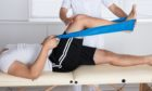 Physiotherapy appointments are generally easier in person than over the phone