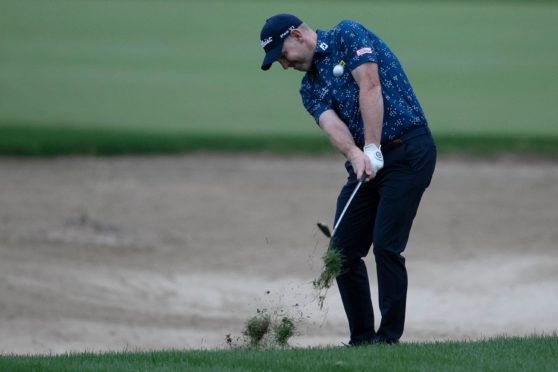 Stephen Gallacher is back at full strength after breaking his hand in a biking accident.