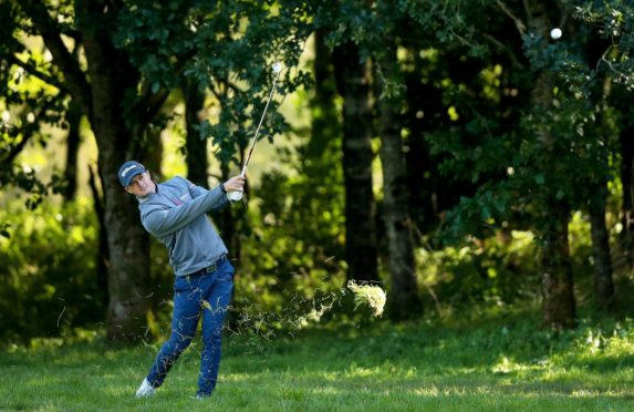 David Law is just two off the lead after the first round in Denmark.