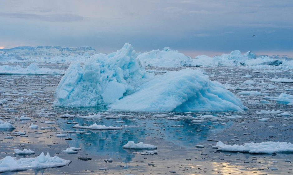 Climate change is having a profound effect in Greenland, with glaciers and the Greenland ice cap retreating.