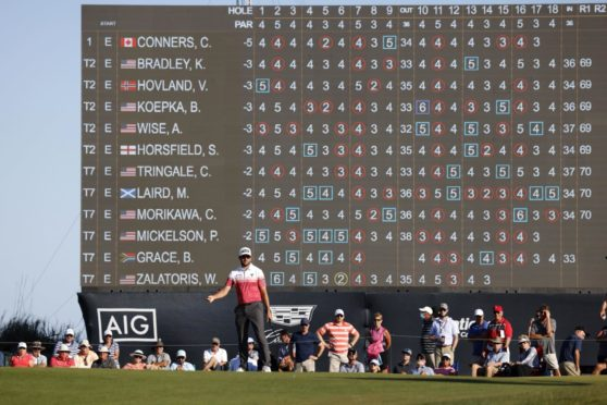 Corey Conners leads the PGA, but Brooks Koepka lies ominously just behind.
