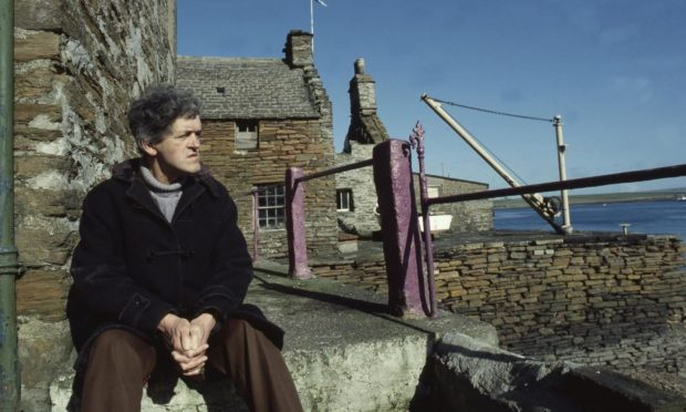 George Mackay Brown. Photo by Werner Forman Archive/Shutterstock