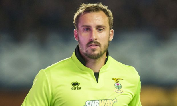 Former Caley Thistle goalkeeper Dean Brill.
