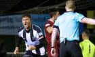 Stephen Bronsky is leaving Elgin City due to his new role with the police. Picture by Bob Crombie