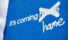 Adidas' Euro 2020 advert in Glasgow