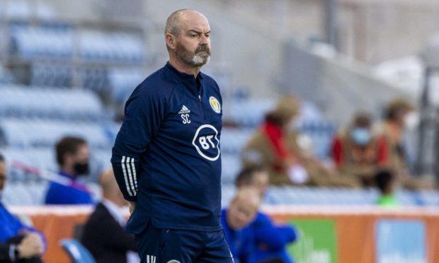Scotland Manager Steve Clarke during a friendly match between Scotland and Netherlands at Estadio Algarve