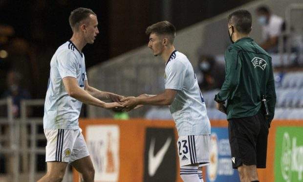Scotland's Billy Gilmour replaces David Turnbull against Netherlands for his Scotland debut