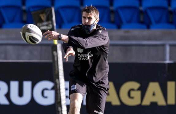 Scotland interim assistant coach Peter Murchie.