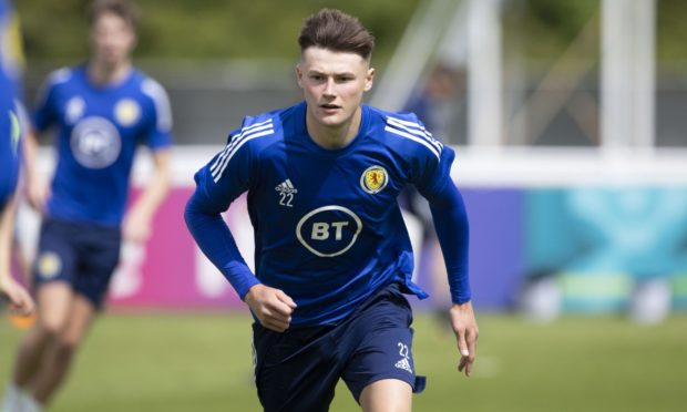 Nathan Patterson in Scotland training in Darlington.