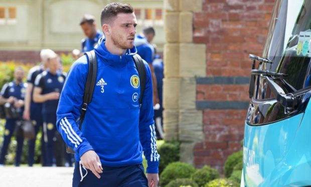Scotland national team captain Andy Robertson.