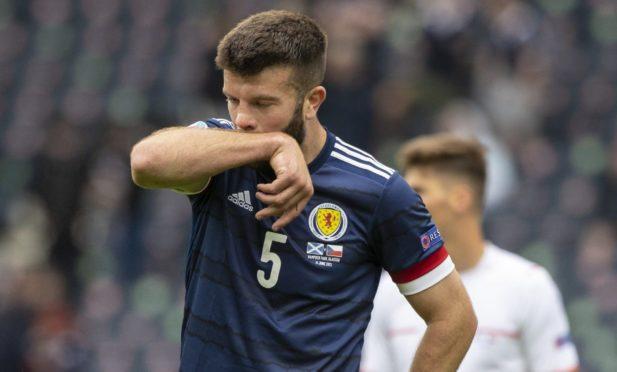 Scotland defender Grant Hanley.