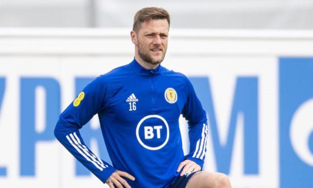 Scotland defender Liam Cooper.