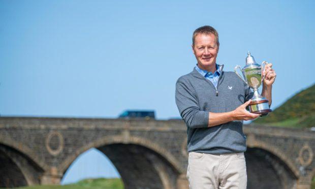Stephen Jensen was crowned 2021 Scottish Senior Men's Open champion at Duff House Royal.