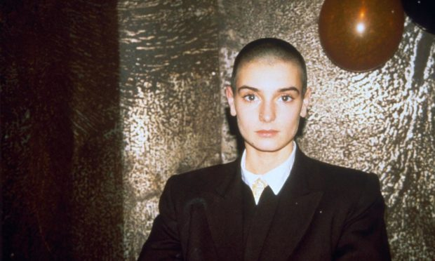 Sinead O'Connor in 1992, around the time of her much-criticised clash with the Catholic church