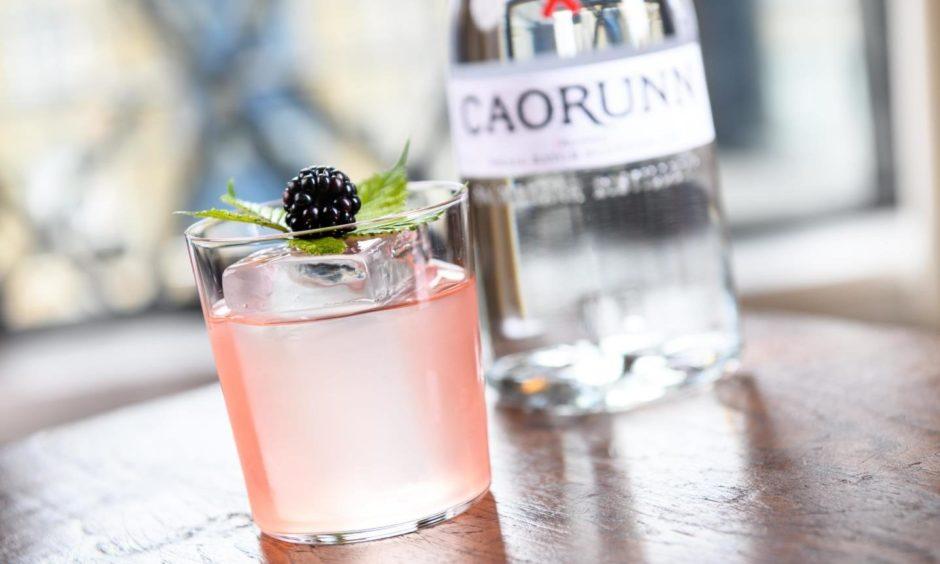 Caorunn Gin cocktails
