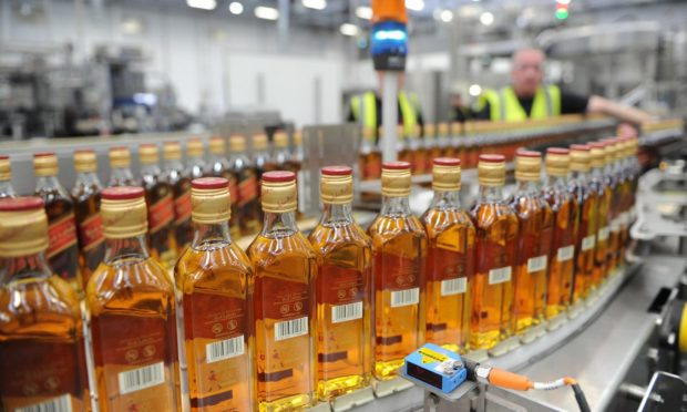 Diageo is the world's largest Scotch whisky producer.