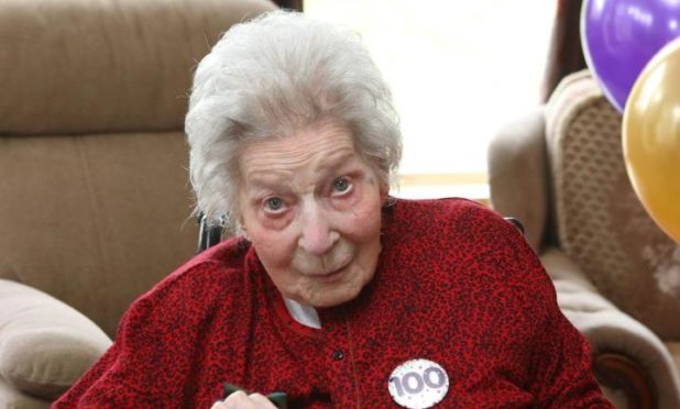 Four generations of Barbara's family came together on Wednesday to celebrate her 100th birthday.