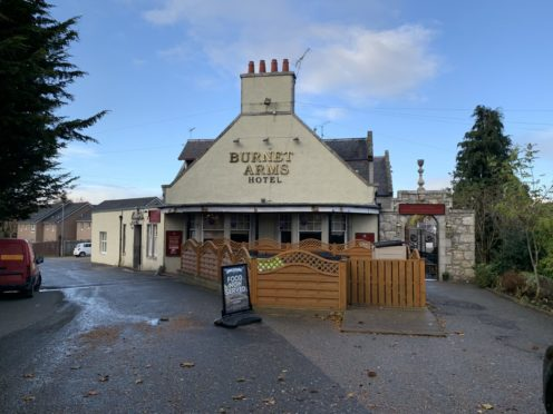 Michael Middler suffered life-changing injuries after the assault outside Kemnay's Burnett Arms.
