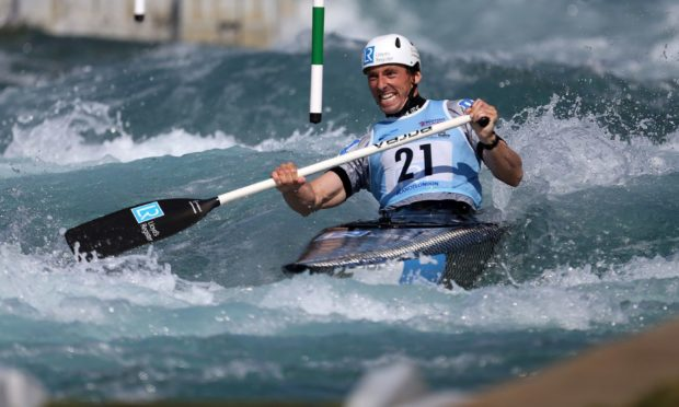 David Florence in action.