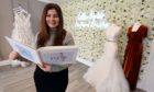 Limara Roberts dream came true when she opened Lillia Bridal at Netherton Business Centre Kemnay. Pic by Chris Sumner