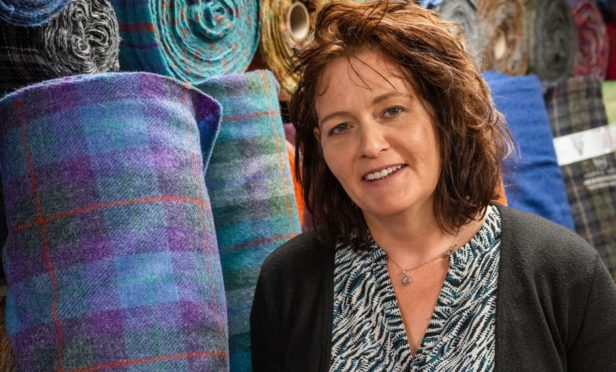 Catherine Campbell made OBE for services to the Harris Tweed Industry and Economy on the Isle of Harris.
