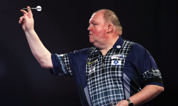 John Henderson is hoping for darts and football success