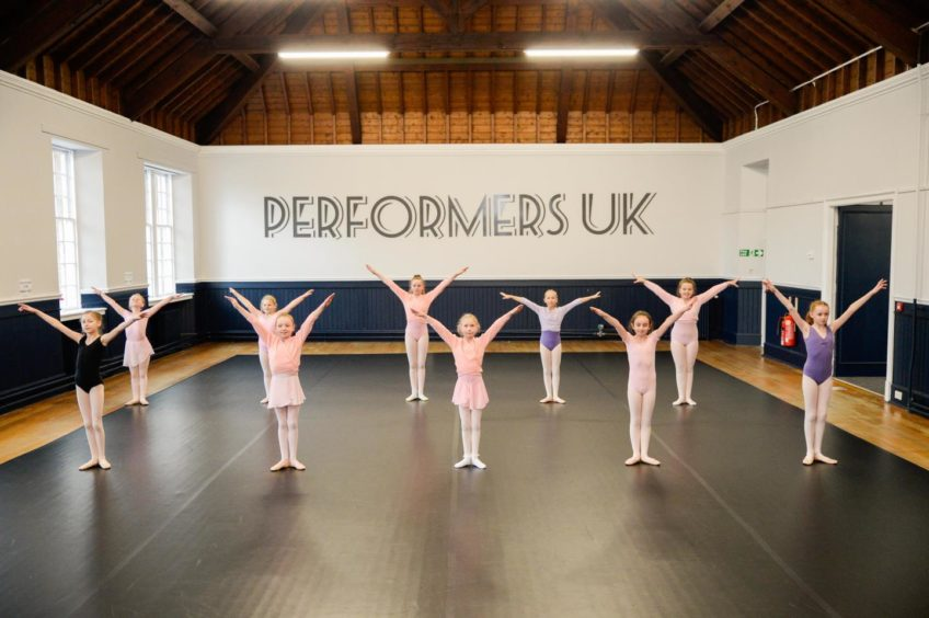 Just a handful of Performers UK's near-600 pupils