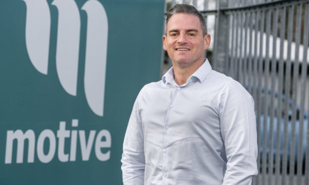 Motive Offshore Group chief executive Dave Acton.