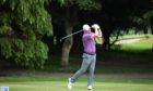 David Logie leads the Scottish Senior Men's Open Championship at Duff House Royal.