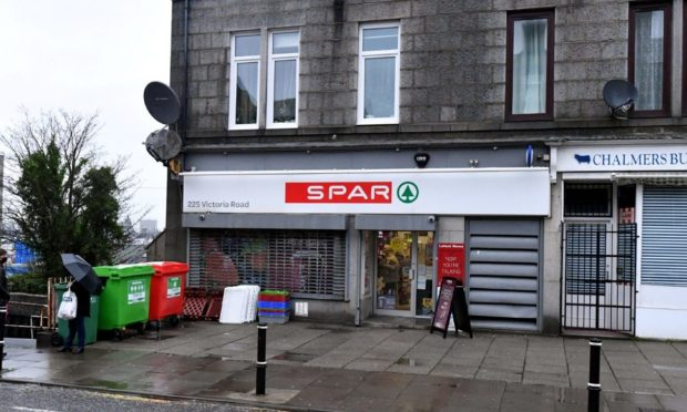 The Post Office counter in SPAR in Victoria Road, Torry, Aberdeen, will shut.