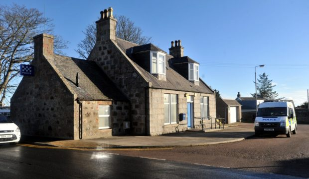 Portlethen Police Station, Cookston Road. Pic by HEATHER FOWLIE