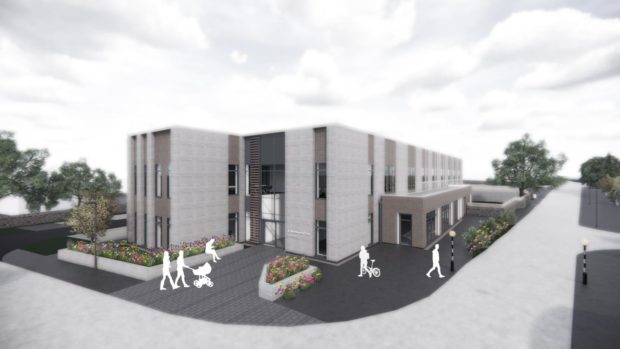 Aberdeenshire council have launched new office plans in old Academy.