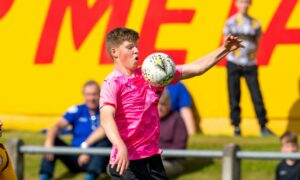 Strathspey Thistle sign young forward Ethan Cairns on loan from Caley Thistle