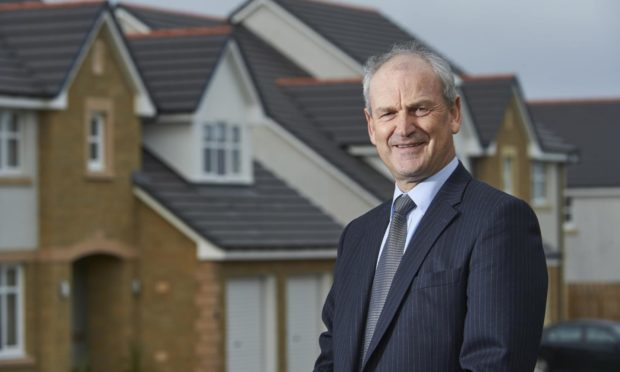Tulloch Homes Group chief executive George Fraser.